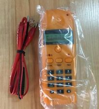 Portable ST220B Compact Telephone Tel Line Test Meter W/O packing/battery only 1