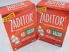 Zaditor Antihistamine Eye Drops & Itch Relief Twin Pack 2x5ml Bottles (2PK) 2018