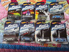 2017 Hot Wheels Fast & Furious lot of all 8 Cars Walmart Exclusive Skyline Honda