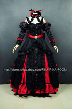 Elise Luxury Black and Red gown [Sound Horizon] cosplay costume