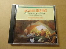 CD / BRAHMS - PIANODUO KOLACNY: DANCES AND VARIATIONS