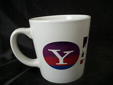 Mug cup Yahoo News logo internet site computer nerd lover coffee tea email