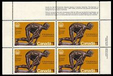 "CANADA 656 - Olympics ""The Sprinter"" Hibrite Paper (pa27988)"