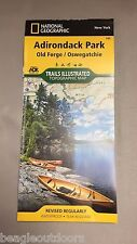 National Geographic New York Old Forge/ Oswegatchie Trails Illustrated Map 745