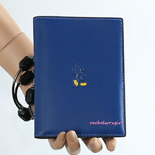 NWT Disney X Coach Mickey Mouse Blue Leather Passport Travel Case 93600 RARE NEW