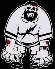 Bloody Big Dad Zombie Walking Dead Family Vinyl Decal Sticker