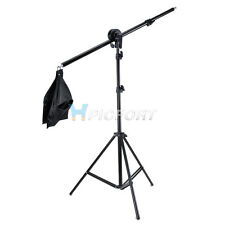 New Photography Video Studio Boom Arm & Light Stand & Sandbag KIT