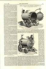 1894 Fyfes Apparatus For Steaming Compressed Hay Bedford Turner Week Conditioner