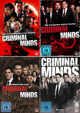 Criminal Minds - Die komplette 6. - 9. Staffel                       | DVD | 444