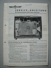 Imperial S/W TV chassis 1423 SUPER Automatic service manual