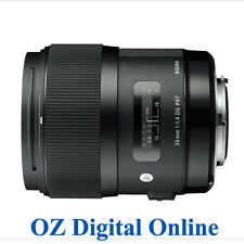 New Sigma 35mm F1.4 DG HSM for Canon 1 Year Au Wty