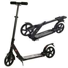 Pro Fast Black Urban Foldable Adult Duo Suspension Foldable Rider 200mm Wheels