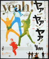 THE BEATLES REPRO 1964 A HARD DAYS NIGHT JAPAN FILM MOVIE POSTER