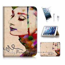 iPad Mini Gen 4 Flip Wallet Case Cover! P0032 Audrey Hepburn