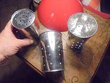 Créez vos Lampes Vintage avec anciennes Faisselles Acier Nikelé en Abat Jour