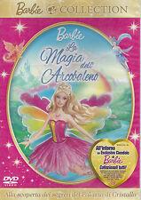 Dvd «BARBIE ♥ LA MAGIA DELL'ARCOBALENO» Esclusivo Ciondolo di Barbie nuovo 2007