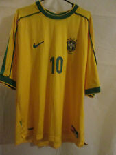 Brazil 1998-2000 Home Football Shirt Size Large /2966