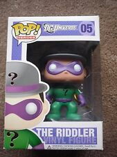 Funko pop dc universe The Riddler RETIRED  #5