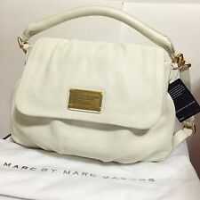 NWT MARC BY MARC JACOBS Satchel Classic Q Lil Ukita Crossbody Bag White Birch