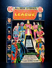 COMICS: DC: Justice League of America #100 (1972), 1st Nebula Man/Oracle app