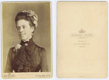 CABINET CARD Photograph Anna Baroness Brassey by Bassano of London