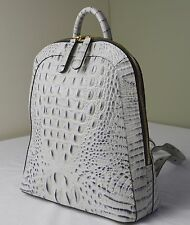 Brahmin Stone wash Melbourne Rosemary Backpack