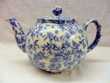 Blue blossom design 2 cup teapot by Heron Cross Pottery