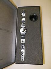 VINTAGE SWATCH WATCH 1996 OLYMPICS ANNIE LIEBOWICZ NEW  ORIGINAL BOX  NOS SIGNED