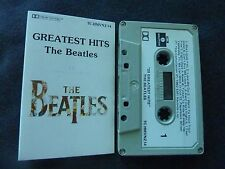 THE BEATLES GREATEST HITS ULTRA RARE NEW ZEALAND CASSETTE TAPE!