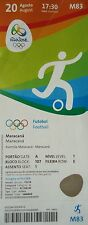 TICKET 20.8.2016 Olympia Rio Fußball Finale Men's Brasilien - Deutschland M83