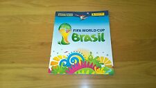 2014 World Cup Brazil Panini Sticker album 50% full