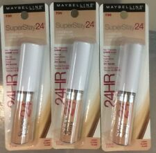 LOT OF 3 - Maybelline SuperStay 24HR Wear Concealer LIGHT # 730 NEW.