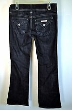 HUDSON Signature Flap pocket ETE Dark Wash Jeans Bootcut Sz 28 x 31 W1702DHA #89