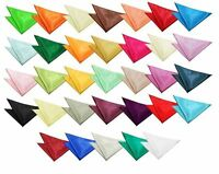 Smart Fashionable Satin Hanky / Handkerchief Square for Weddings (All Colours)