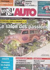 LA VIE DE L'AUTO N° 1635  oct 2014 . AUTOMEDON  GENESTIN  CLASSIC FESTIVAL