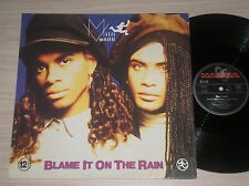 "MILI VANILLI - BLAME IT TO THE RAIN - MAXI-SINGLE 12"" GERMANY"