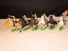 Vintage Britains Detail 6 American Civil War Union Cavalery Figures x-shop stock