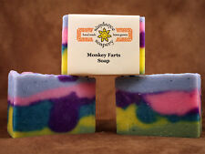 Homemade Soap ~Monkey Farts ~ Handmade Soap ~ KIDS LOVE THIS !!!