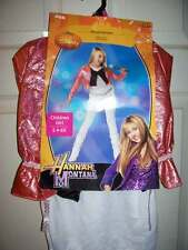 NWT DISNEY HANNAH MONTANA POP STAR DRESS UP OUTFIT COSTUME GIRLS 4 5 6 6X