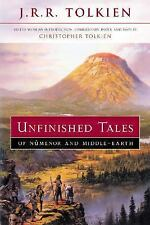 Unfinished Tales of Numenor and Middle-Earth, Tolkien, J. R. R., Good Condition,