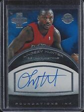 LINDSEY HUNTER 2013-14 PANINI INNOVATION FOUNDATIONS INK ON CARD AUTO #D 117/199