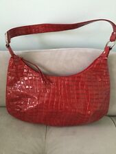 Red H&M Purse Shoulder Bag Zip Close