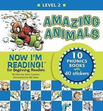 Now I'm Reading! Level 2: Amazing Animals NIR! Leveled Readers