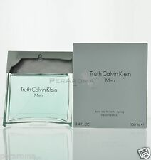 Truth by Calvin Klein For Men Eau De Toilette 3.4 oz 100 ml Spray