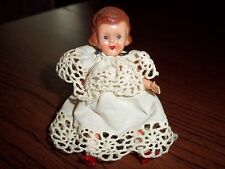 "3.5"" hard plastic doll made in hong kong 1950s"