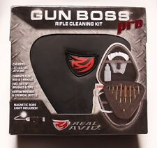 Rifle Cleaning Kit Real Avid Gun Boss Pro .17 .22 .30 .270 .280 Complete & Case