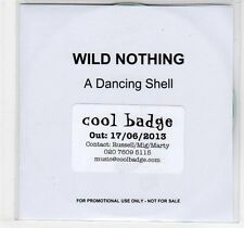 (EC863) Wild Nothing, A Dancing Shell - 2013 DJ CD