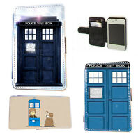 Doctor Who Tardis leather wallet phone case for SAMSUNG S3 S4 S5 Mini,S6,S6 Edge