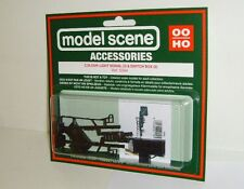 Modelscene Accessories - 5094 Colour-Light Signal x2 & Switch Box (00) Railway