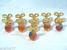 Diamonds and Sapphires Perfume Mini Elizabeth Taylor Lot of 11 - 3.7 ml 1.35 oz